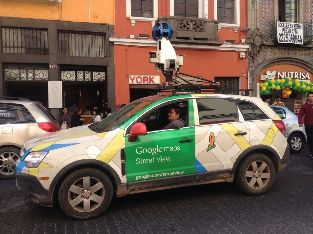 Googleストリートビュー撮影用の360度カメラ