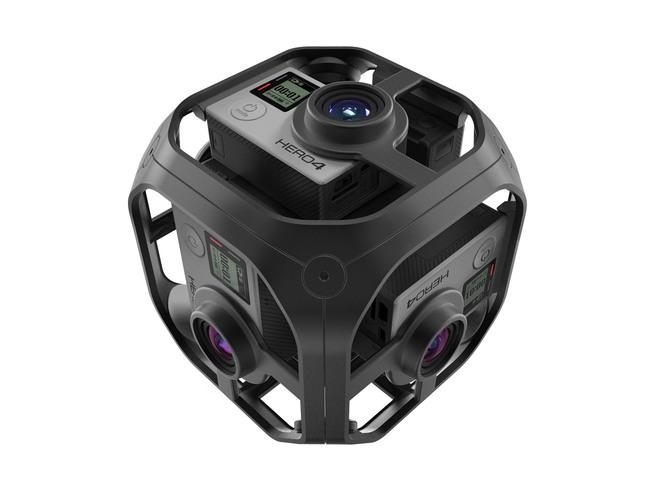 Goproを6台組み合わせるもの。8K相当の360度撮影ができる。GoPro公式サイトより。
