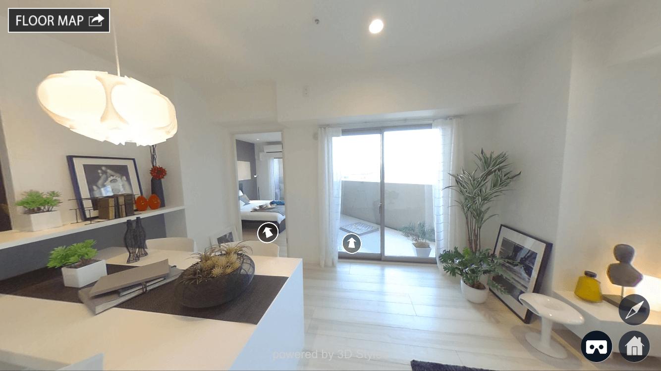 VRコンテンツ3D Styleeの のサンプル画像
