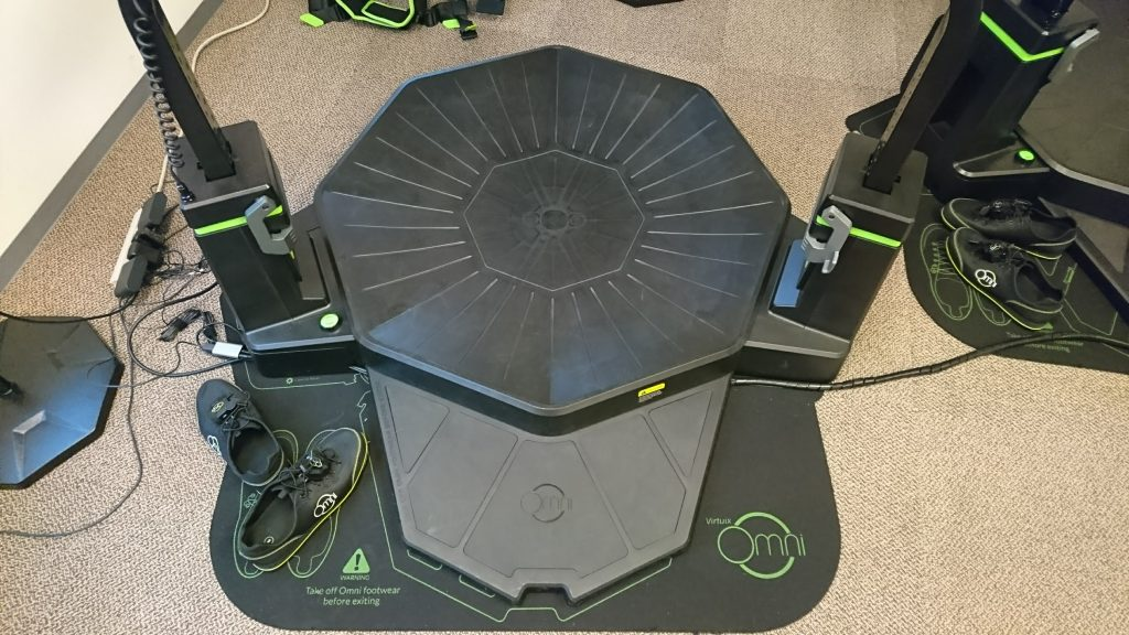 Virtuix Omniの床部分