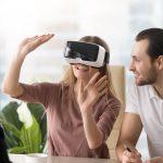 VR不動産でのVR内見の接客