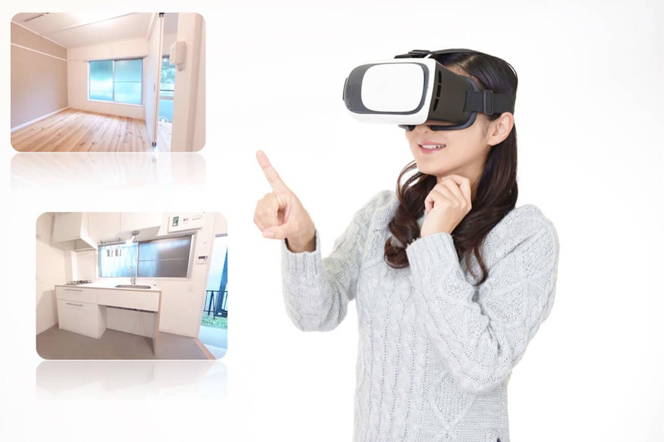 不動産分野のVR内見(VRの活用が進むビジネス分野)