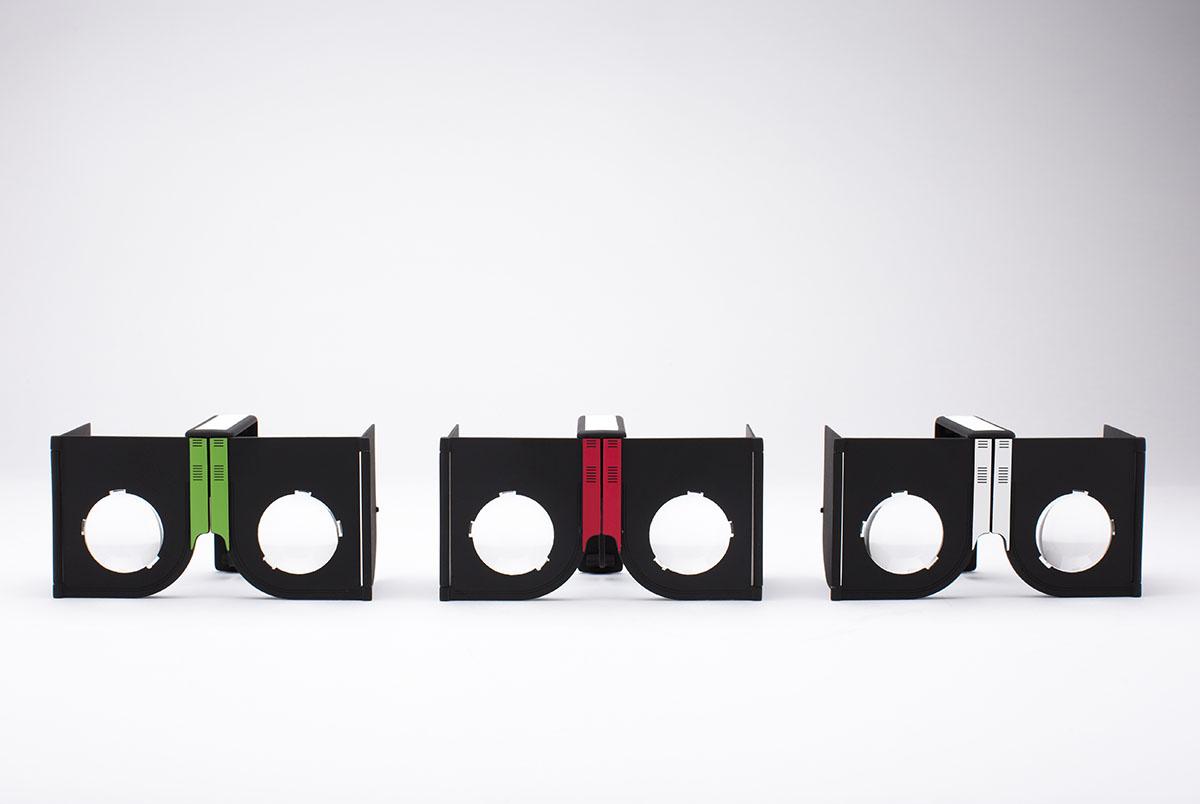 プロモーション用にカスタマイズ可能な折りたたみ式のコンパクトなVRグラス「カセット」