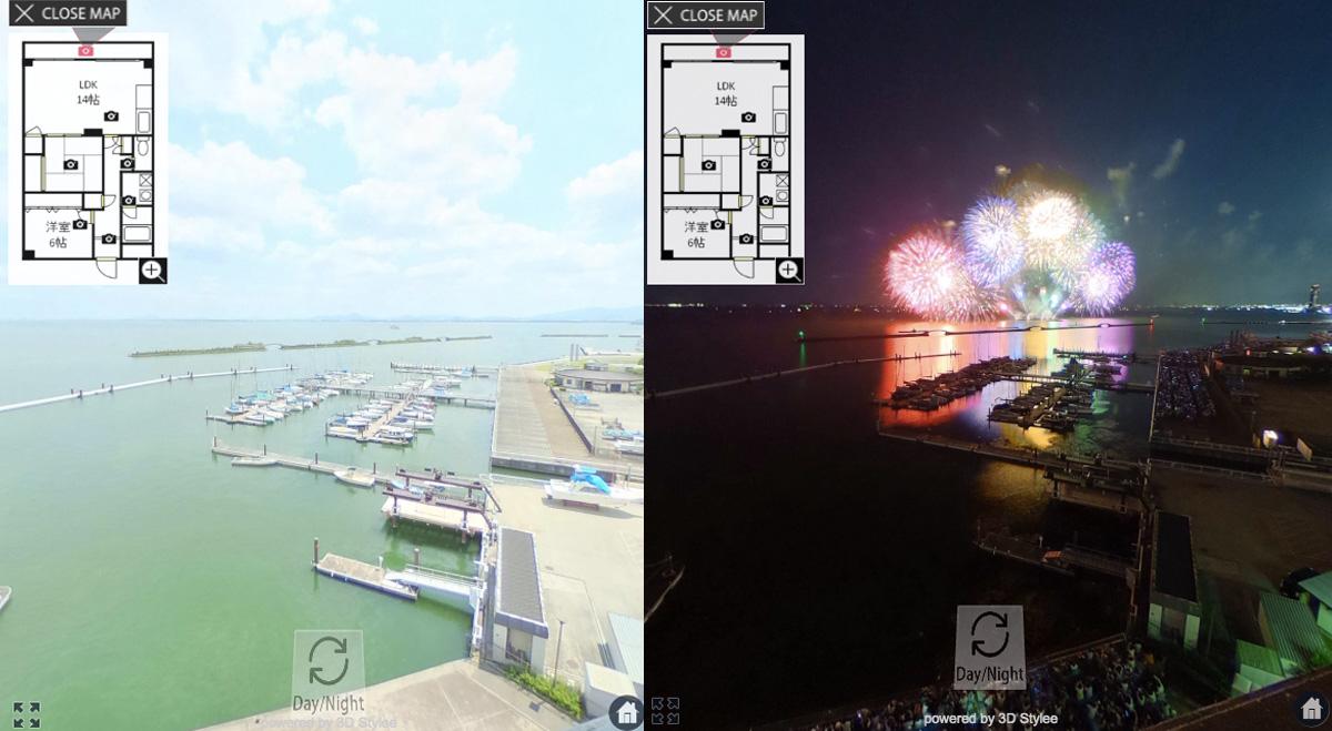 空室率を減らすために物件を360度VRコンテンツ化