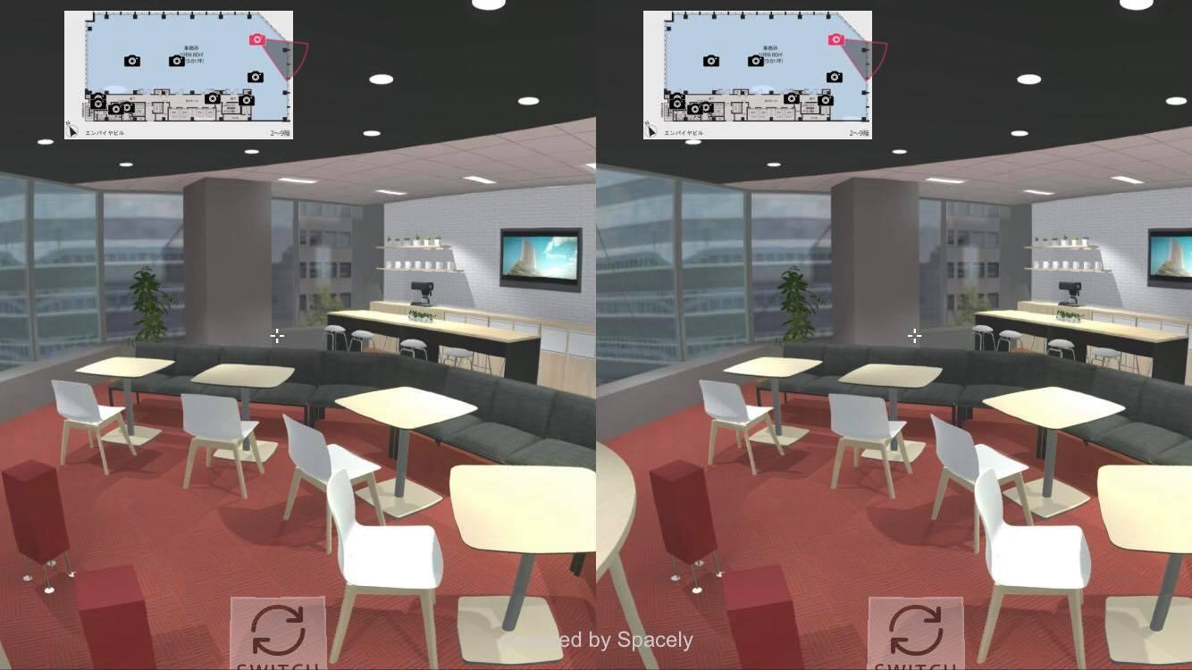 CGを活用したVRコンテンツのキャプチャ画像