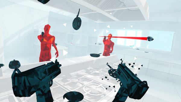 【時空をコントロールするシューティングゲーム】SUPERHOT VR
